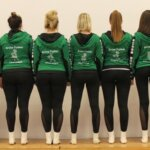 Beflockung Tanzgruppe Outfit Grüne Funken Oberelspe