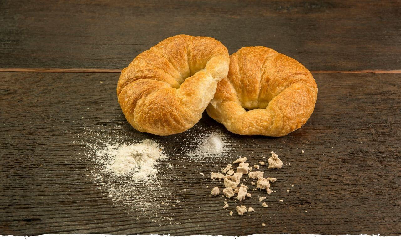 Croissant von der Bäckerei Brinker