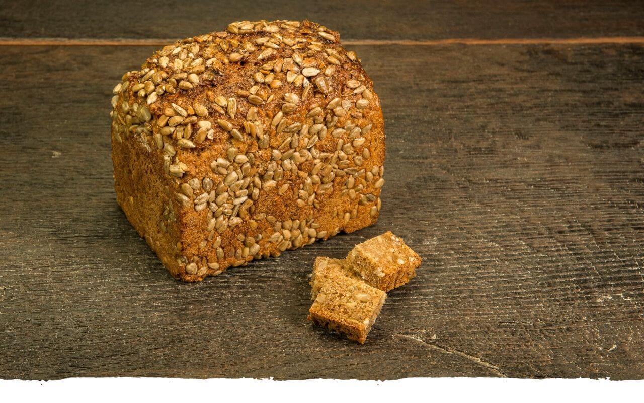 Dinkelvollkornbrot von der Bäckerei Brinker