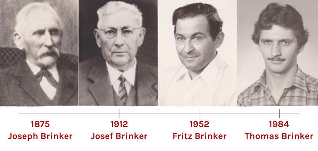 Historie der Bäckerei Brinker