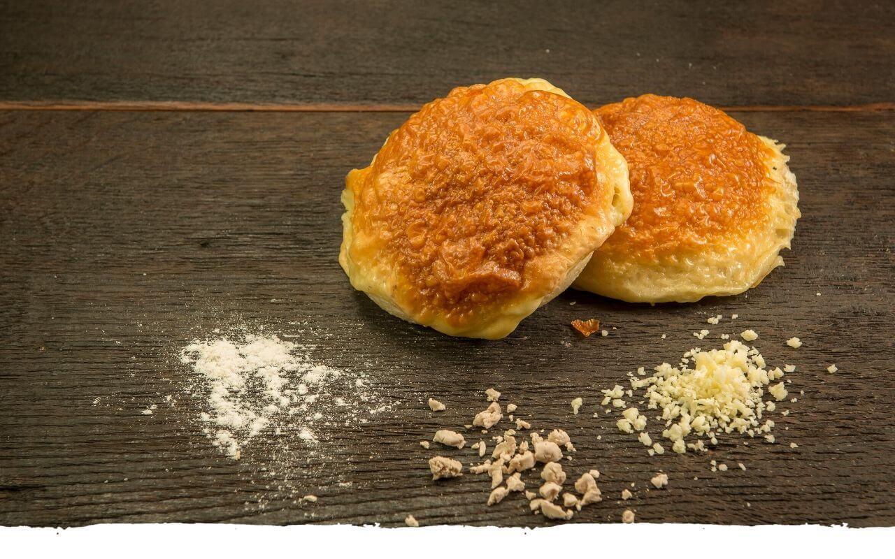 Käsebrötchen von der Bäckerei Brinker