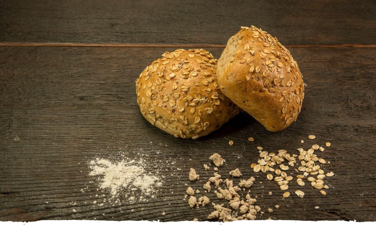 Mehrkornbrötchen von der Bäckerei Brinker