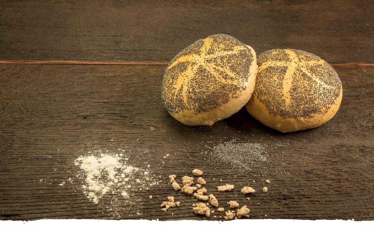 Mohnbrötchen von der Bäckerei Brinker