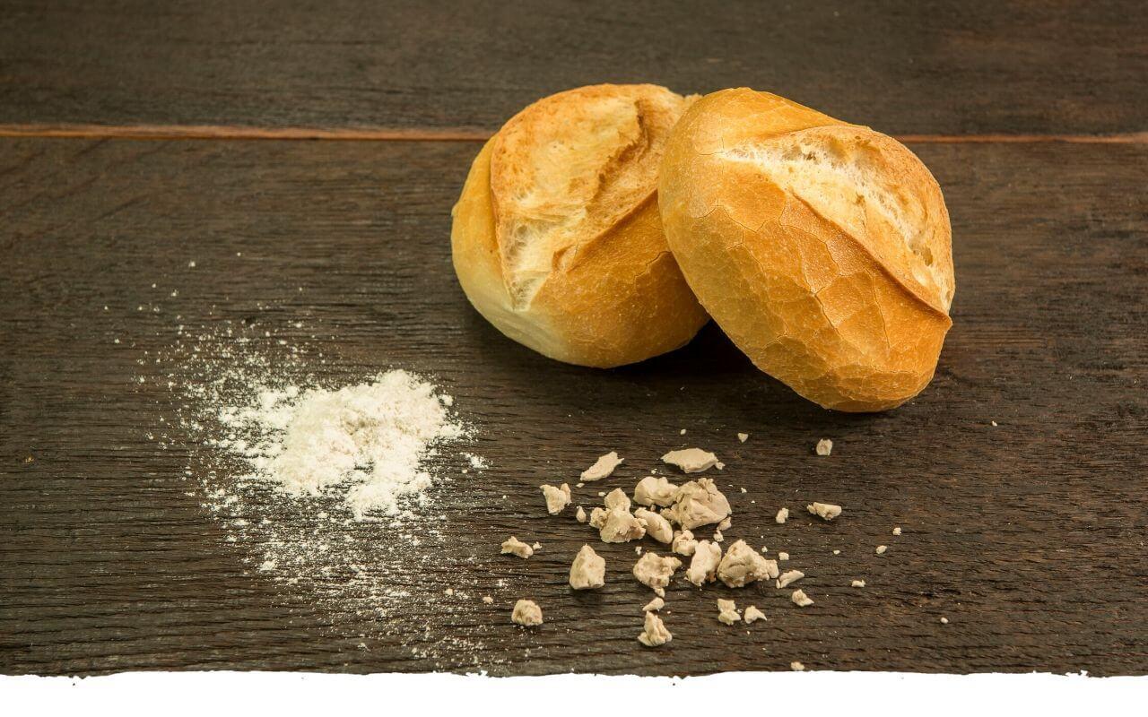 Schnittbrötchen von der Bäckerei Brinker