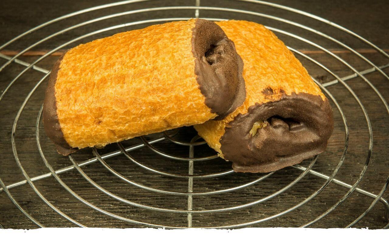 Schokocroissants von der Bäckerei Brinker