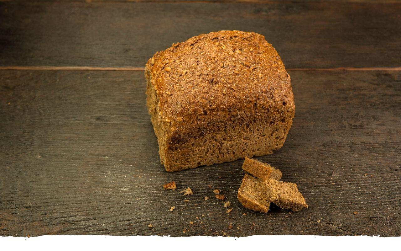 Softschwarzbrot von der Bäckerei Brinker